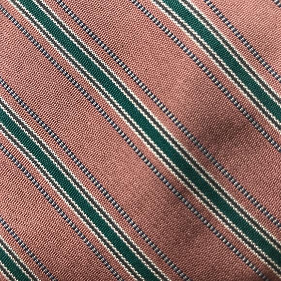 Calvin Klein Other - Calvin Klein Pink Green Silk Necktie A050715